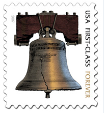 USPS Liberty Bell Forever Stamp
